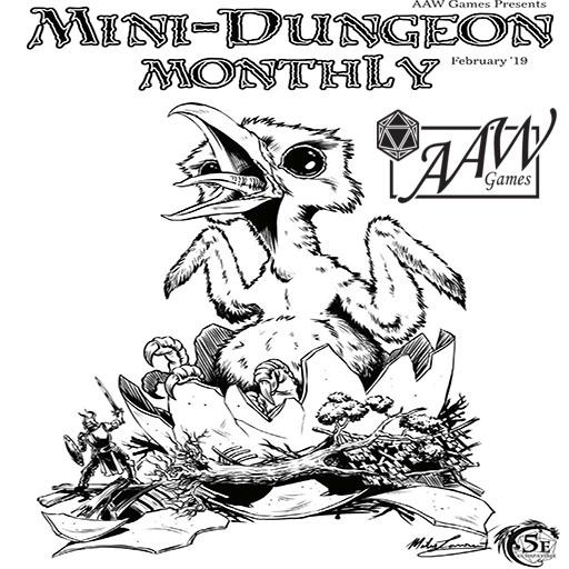 Mini-Dungeon Monthly #1