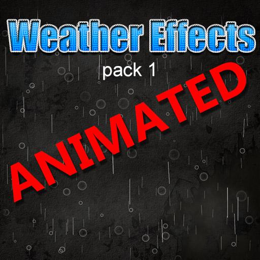 Weather Effects Animated Pack1