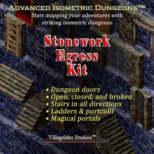 Stonework Egress Kit
