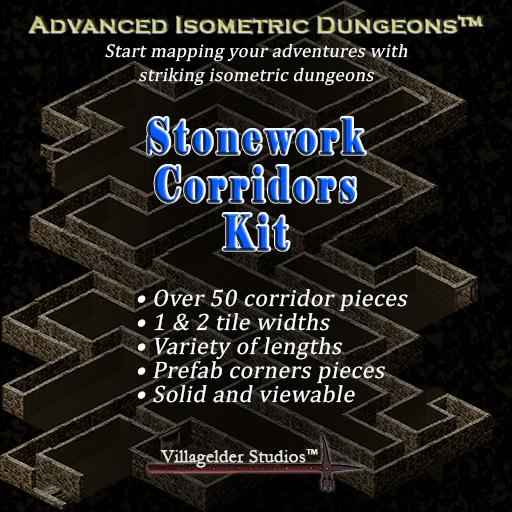 Stonework Corridors Kit