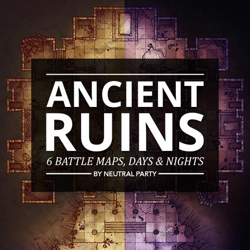 Ancient Ruins Map Pack 2
