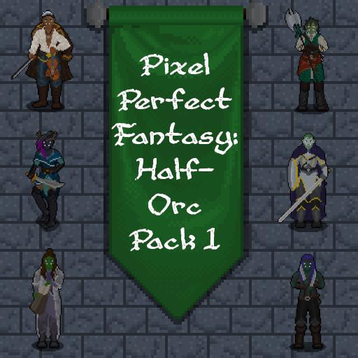 Pixel Perfect Fantasy: Half-Orc Pack 1