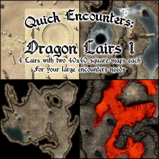 Quick Encounters: Lairs 1
