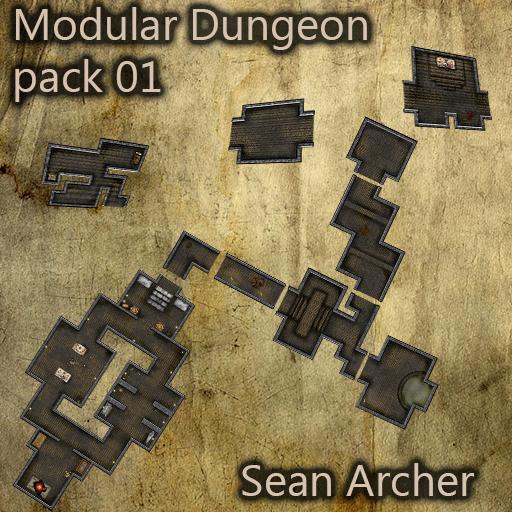 Modular Dungeon 01