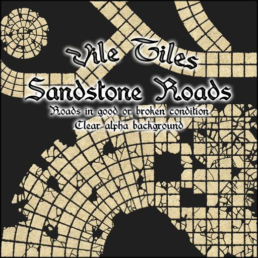 Vile Tiles: Sandstone Roads