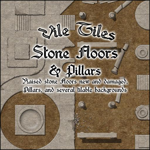 Vile Tiles: Stone Floors & Pillars