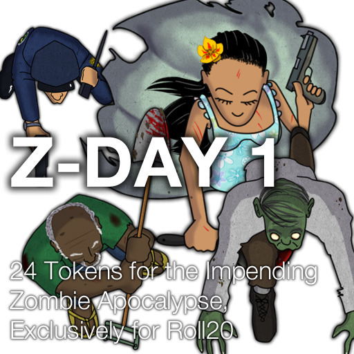 Z-Day 1 - Zombies and Humans