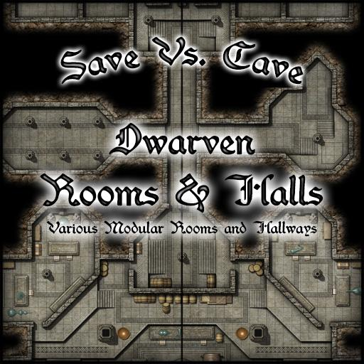 Save Vs. Caves Dwarven Rooms & Halls