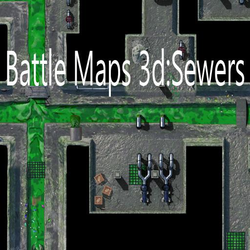 Battle Maps 3d: Sewers