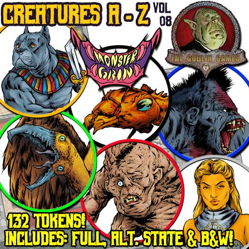 Creatures A-Z, Vol. 8