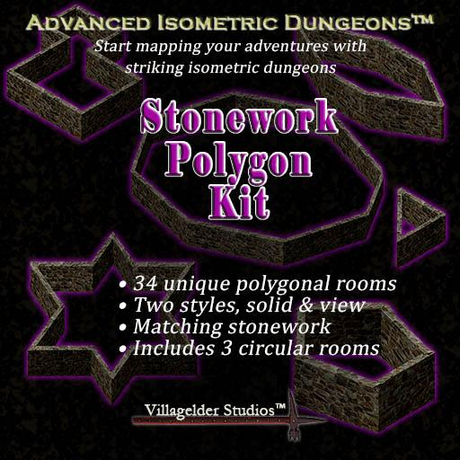 Stonework Polygon Kit