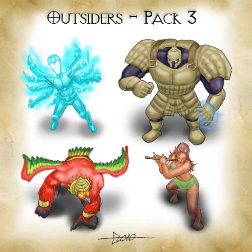 Outsiders Pack 3