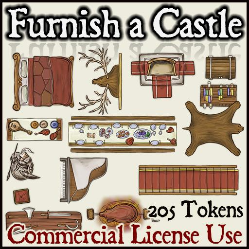 Furnish a Castle