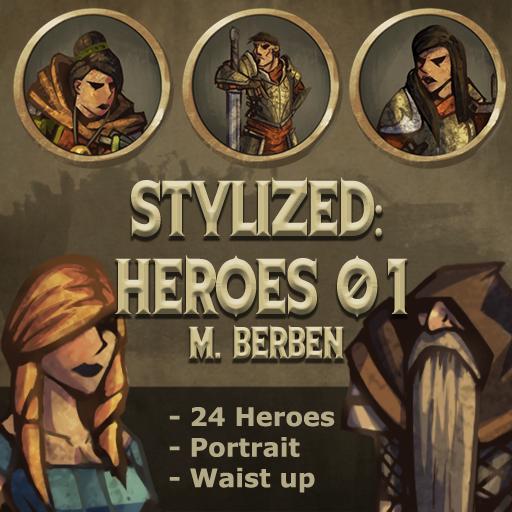 Stylized: Heroes 01