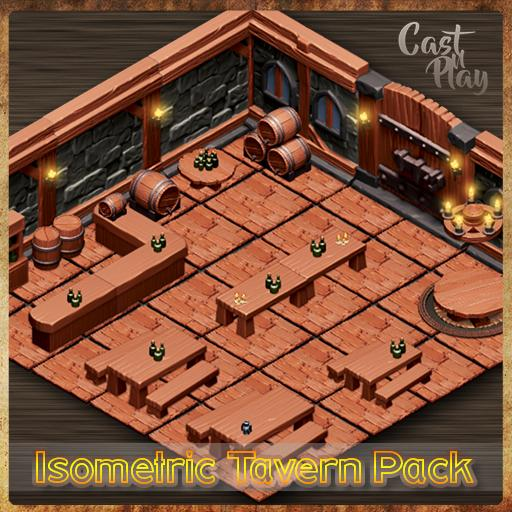 Isometric Tavern Pack