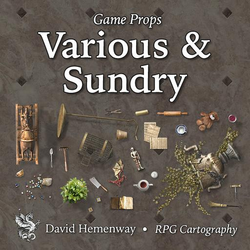 Game Props Various & Sundry
