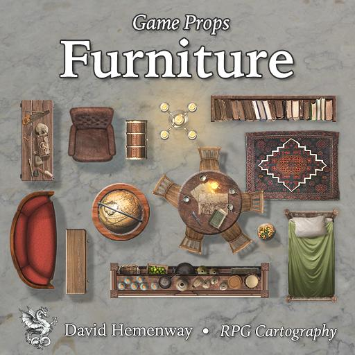 Game Props Furniture