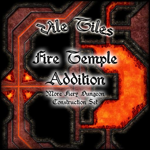 Vile Tiles Fire Temple Addition