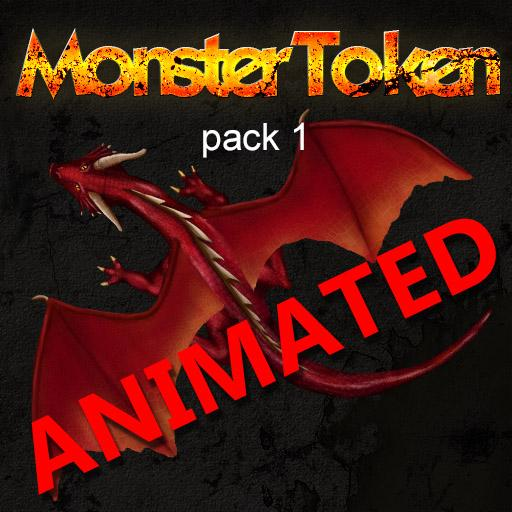 Monster Token pack 1 Animated