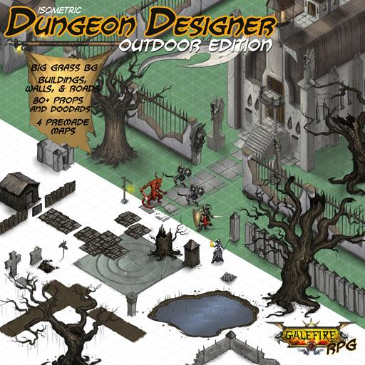 Isometric Dungeon Designer, Outdoor Edition
