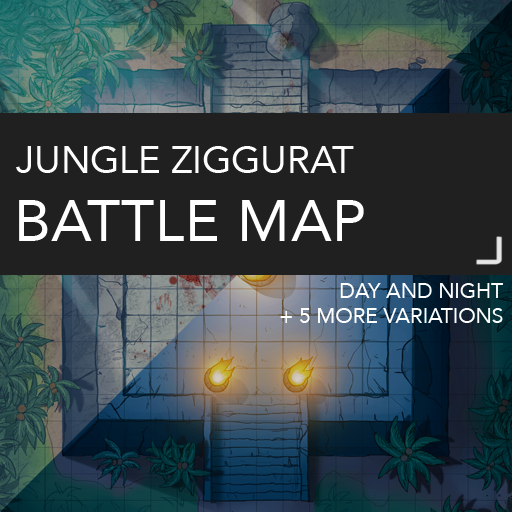 Temple Ziggurat Battle Map