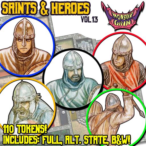 Saints & Heroes, Vol. 13