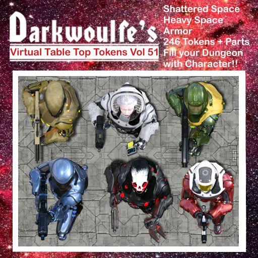 Darkwoulfe's Token Pack Vol51