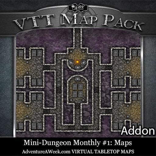 VTT Addon: MDM #1 Maps