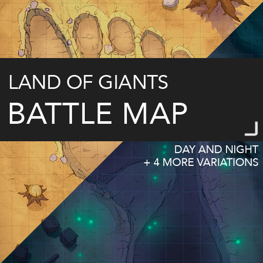 Land of the Giants Map