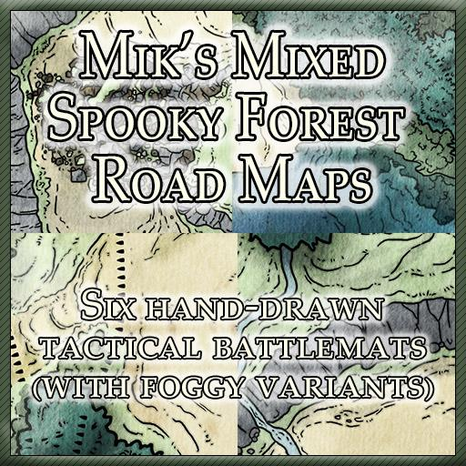 Mik's Mixed Spooky Forest Road Maps