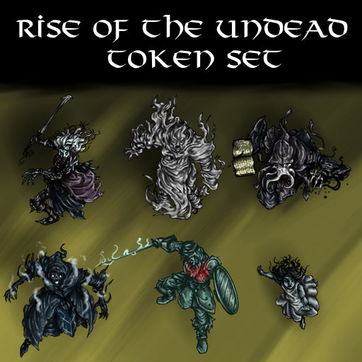 Rise of the Undead Token Set