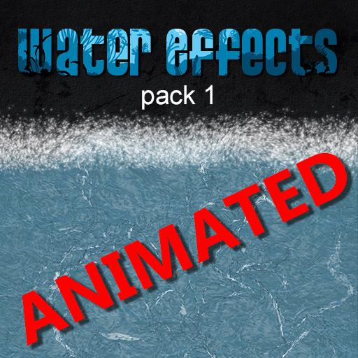 Water Effects pack 1 Animated