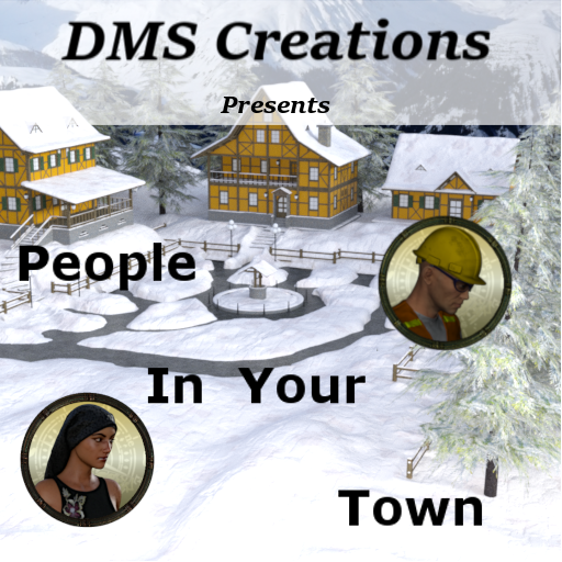 People in your town: set two