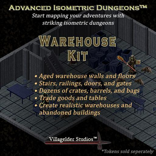 Isometric Warehouse Kit