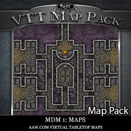 VTT Map Pack: MDM #1