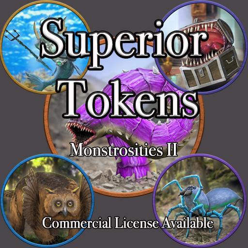 5E SRD Tokens - Monstrosities II