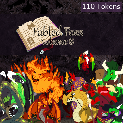 Fabled Foes Volume 8