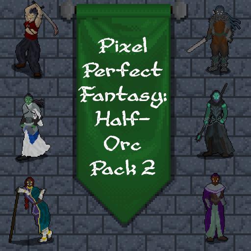 Pixel Perfect Fantasy: Half-Orc Pack 2