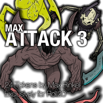 Max Attack 3 - Monsters III