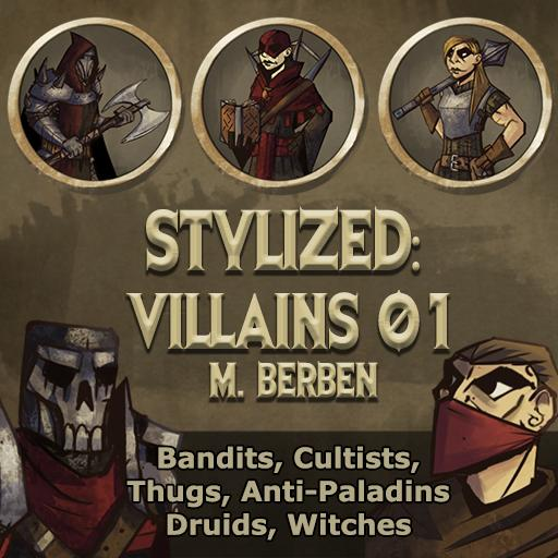 Stylized: Villains 01