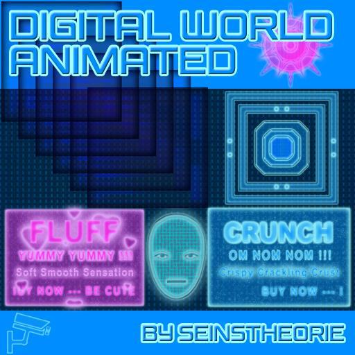 Digital World Animated