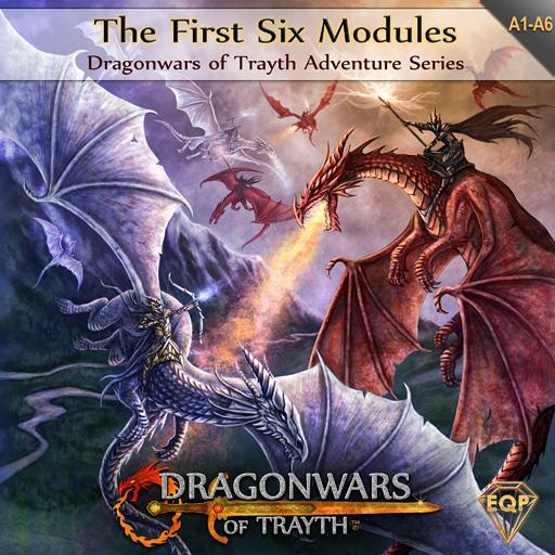 Dragonwars of Trayth: 6 Adventure Collection