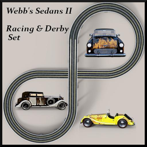 Webb's Sedans II: racing and derby Set