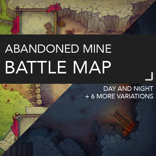 Abandoned Mine Battlemap