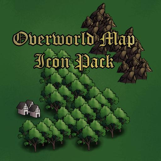 Overworld Map Icons