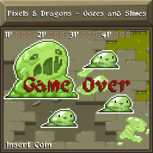 Pixels and Dragons - Oozes and Slimes