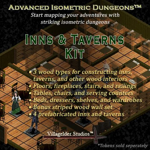 Isometric Inns and Taverns Kit
