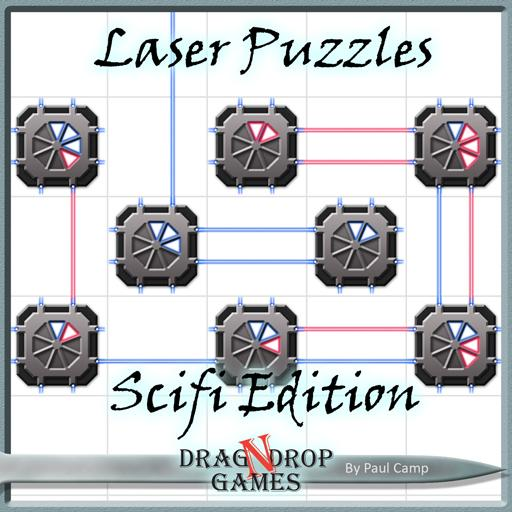 Laser Puzzles: Sci-fi Edition