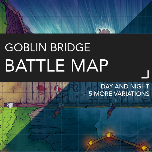 Goblin Bridge Battlemaps