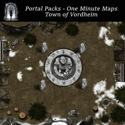 Portal Packs - One Minute Maps - Town of Vordheim